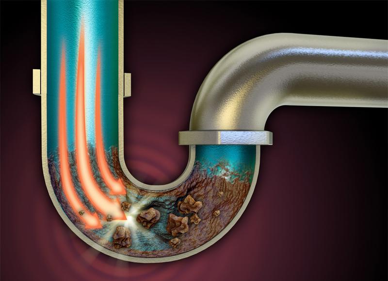 Как избавиться от забитых труб