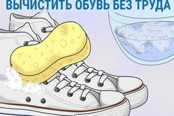 Лёгкий и эффективный способ вычистить обувь без труда